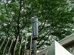 赤外線センサー設置