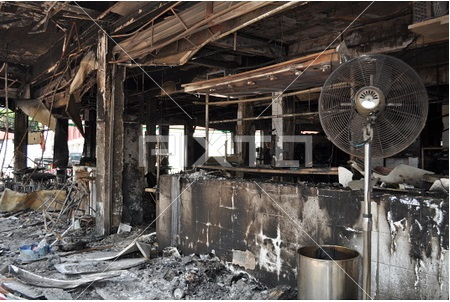 工場の自然発火対策